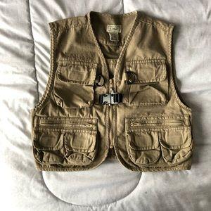 Lands End fishing vest